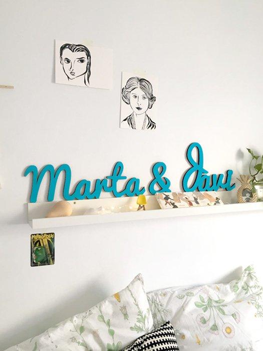nombres de madera para parejas