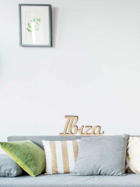 Palabra de madera IBIZA