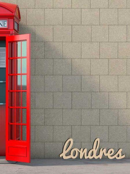 Palabra de madera LONDRES