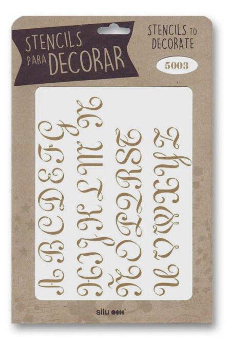 Stencil letras 5003