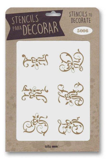 Stencil letras 5006