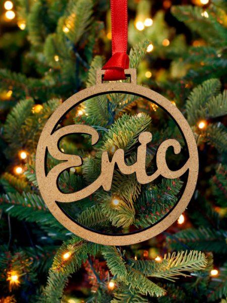 Bola de Navidad Personalizada DM