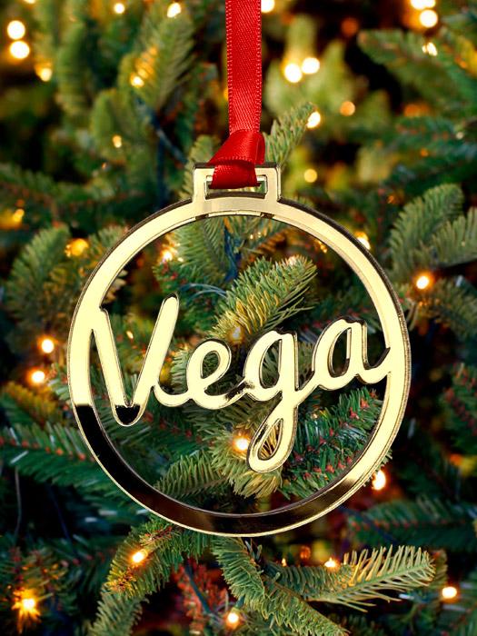 bola navidad personalizada metacrilato