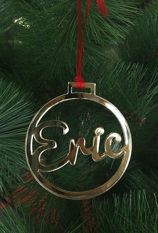 Bola navidad metacrilato