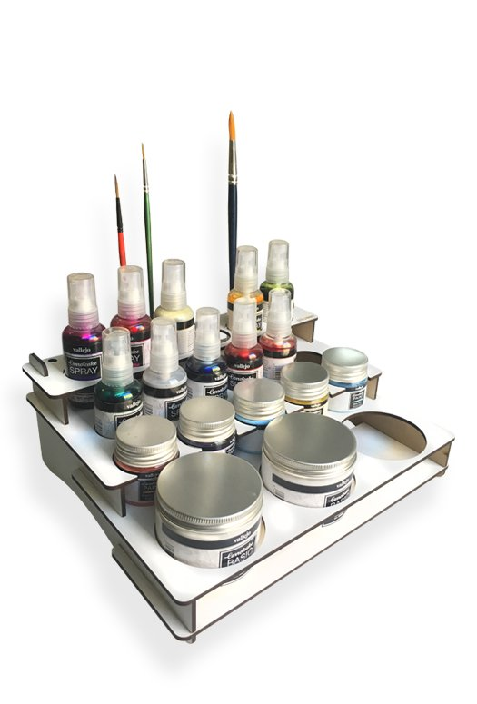 paint stand mix media