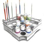 organizador pinturas pebeo setacolor