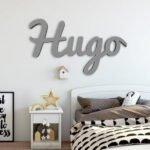 nombre madera decoración grande