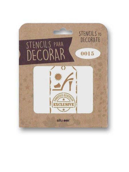 Stencil etiqueta Limited Edition Exclusive 0015