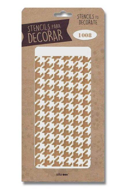 Stencil geométrico 1008