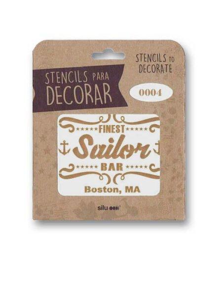 Stencil publi Sailor Bar 0004