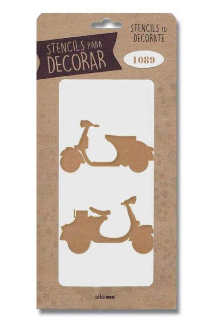 Stencil scooter 1089