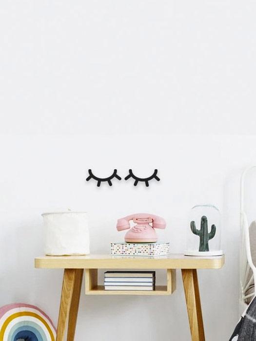 pestañas decoracion habitacion infantil