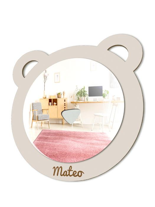 espejo infantil oso palo