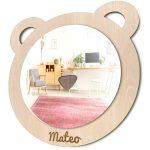 espejo infantil oso para niños