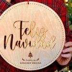 guirnalda para puerta navidad