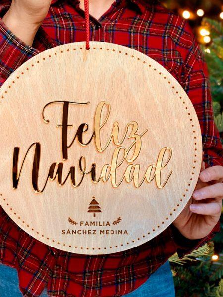 Bolas de Navidad XL Metacrilato para puertas