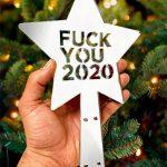 estrella arbol de navidad fuck you 2020