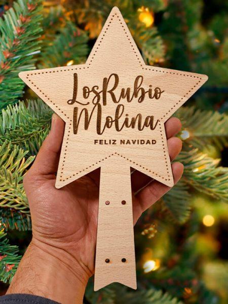 Estrella para árbol de Navidad Haya