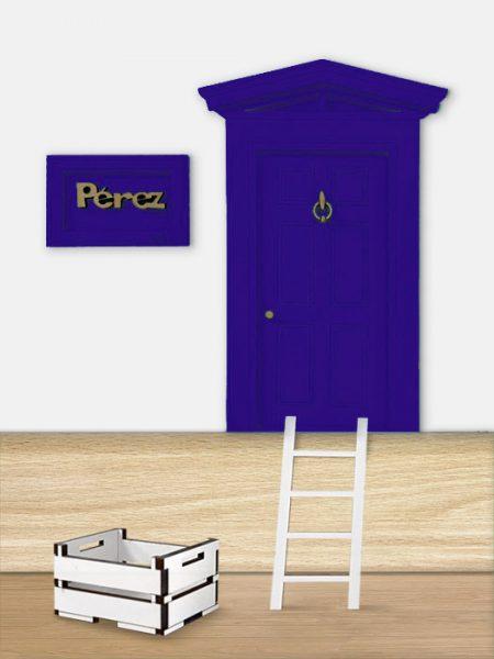 Puerta Ratoncito Pérez Azul Ultramar