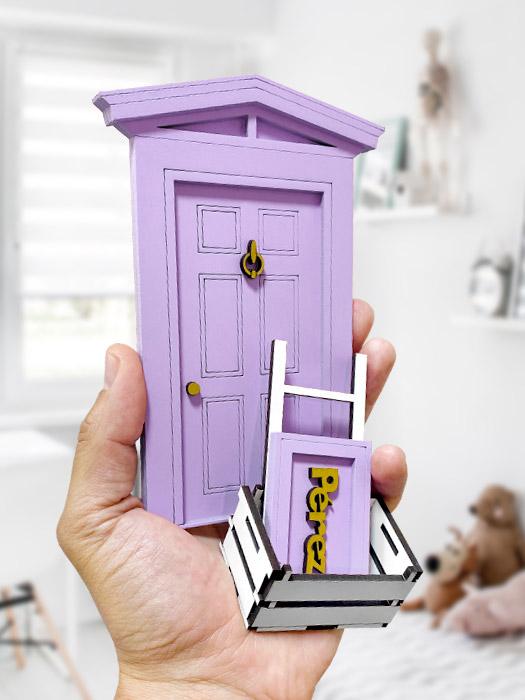 puerta ratoncito pérez violeta