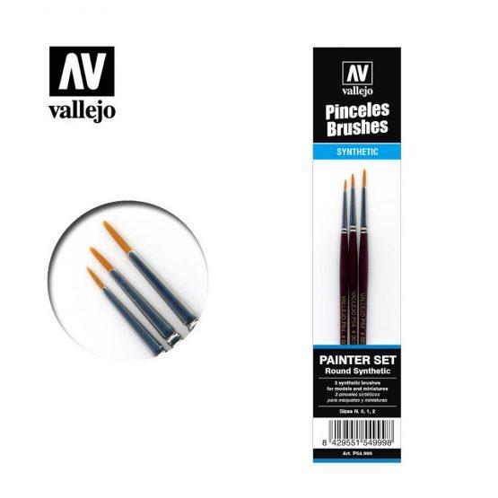 set de pinceles vallejo painter