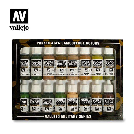 pack pinturas vallejo camuflaje