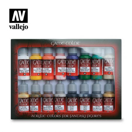 Pack de Pinturas Vallejo Game Color Introducción