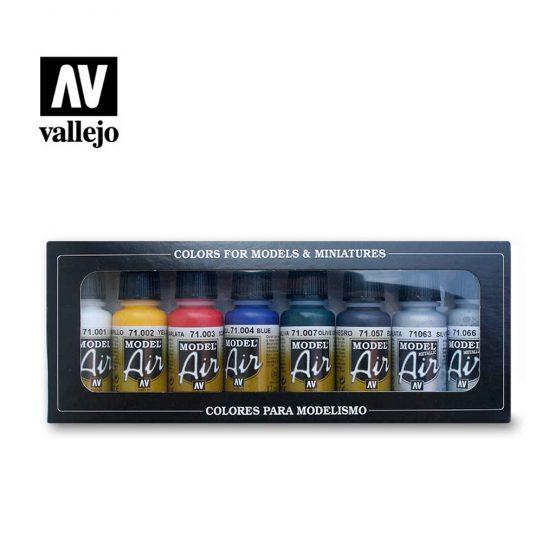 pack pinturas vallejo model air basics