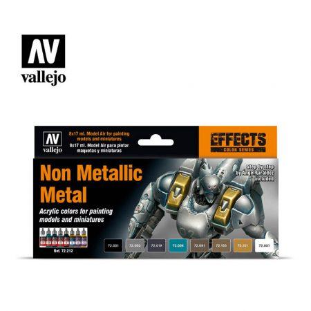 Pack de Pinturas Vallejo Non Metallic Metal