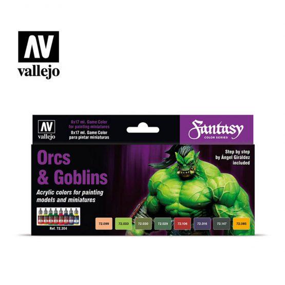 pack pinturas vallejo orcs & goblins