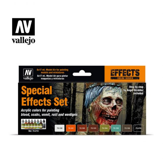 pack pinturas vallejo special effects set