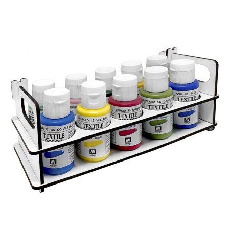 Paint Stand portátil para botes de pinturas de 35 ml