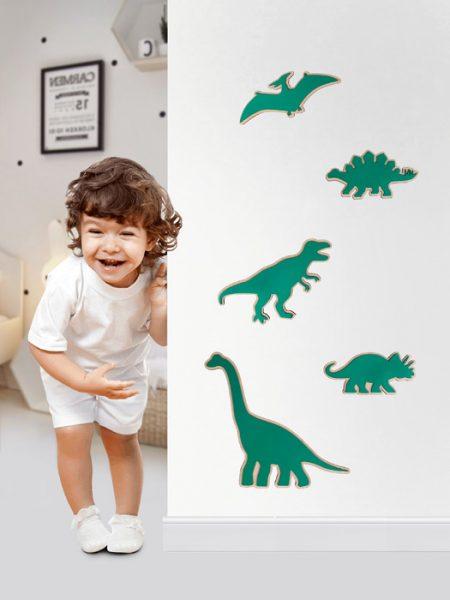 Dinosaurios Fluorescentes
