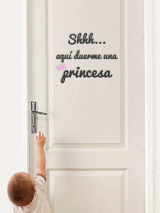 frase puerta princesa