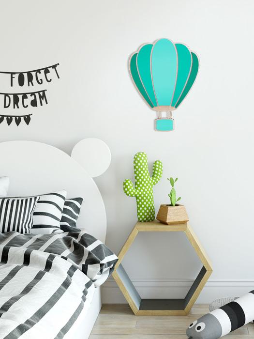 globo habitación niño