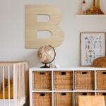 letra madera grande gotham