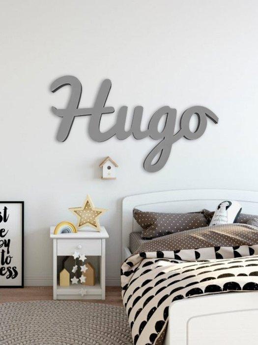 nombres de madera para decorar habitaciones infantiles