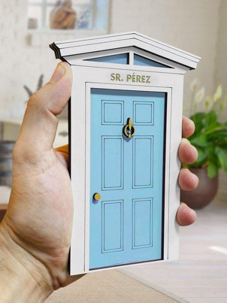 Puerta Ratoncito Pérez Magic Azul
