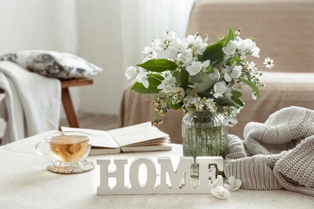 Dónde colocar palabras de madera en tu decoración