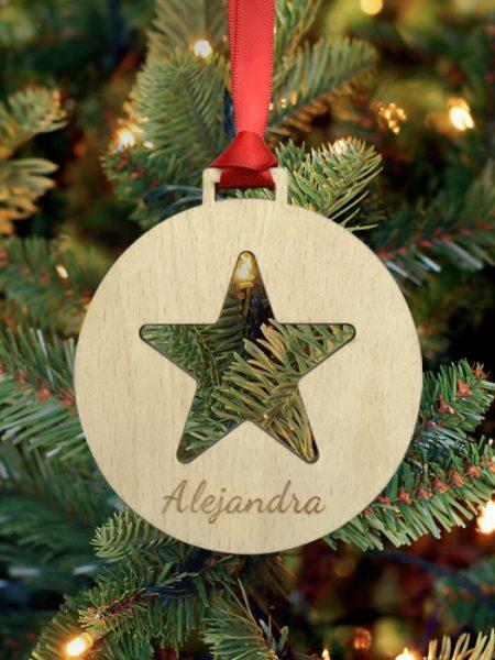 Bola de Navidad Star