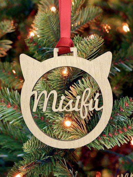 Bola de Navidad mascota gato